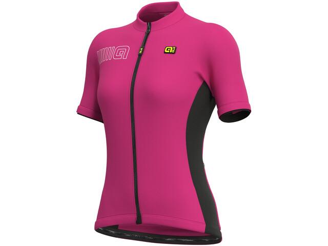 Alé Cycling Solid Color Block SS Jersey Women azalea